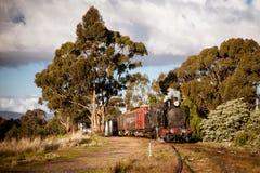 Erbdampf-Zug in Maldon Lizenzfreie Stockfotos