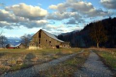 Erbe-Bauernhof Stockfotos