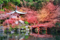 Erbe-Daigoji-Tempel Lizenzfreies Stockfoto