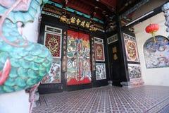 Erbe, das Melaka, Malaysia errichtet Lizenzfreies Stockfoto