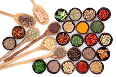Erbe e spezie culinarie Fotografia Stock Libera da Diritti