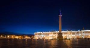 Erbe, Palast-Quadrat, St Petersburg, Russland Stockbild