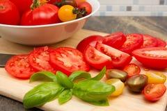 Erbe-tomatoe Stockbilder