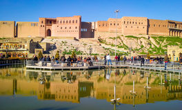 Erbil κεντρικός Στοκ Εικόνες