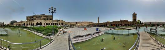Erbil castel Royalty-vrije Stock Foto's