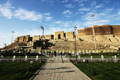 Erbil citadel, Erbil city, Kurdistan of Iraq. Royalty Free Stock Photo