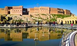 erbil citadel royalty free stock image