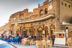 Erbil miasto, Irak fotografia royalty free