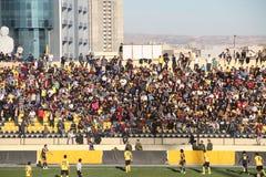 Erbil team players. Playing at Firanso hariri football stadium at erbil city Royalty Free Stock Photo