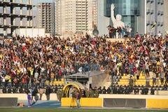 Erbil team players. Playing at Firanso hariri football stadium at erbil city Stock Photos