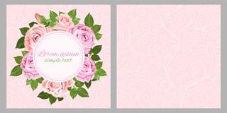 Erblassen Sie - rosa roses-32 Stockfotografie