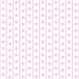 Erblassen Sie - rosafarbene Sterne u. Streifen Lizenzfreies Stockfoto