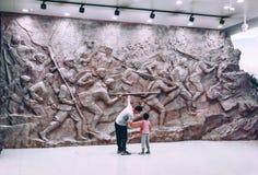 Erbschaftsgeschichte-c$jinggangshan Museum lizenzfreies stockbild
