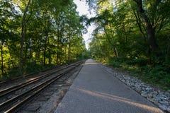 Erbschienen-Hintergrafschafts-Park York, Pennsylvania lizenzfreies stockfoto