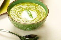 Erbsen-Suppe lizenzfreies stockbild