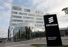 Ercisson group head office Royalty Free Stock Images