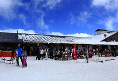 Erciyes-Skiort lizenzfreies stockfoto
