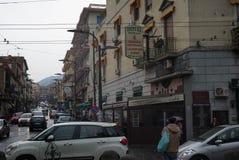 Ercolano, Italy street scene. Royalty Free Stock Photo