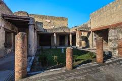 Ercolano, Napoli Italia fotografie stock libere da diritti