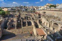Ercolano, Napoli Italia immagini stock libere da diritti