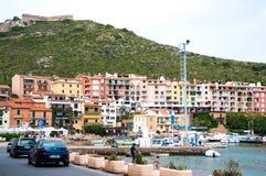 ercole porto Италия Стоковая Фотография RF