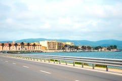 ercole porto santo stefano porto Orbetello Италия Стоковая Фотография