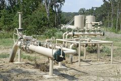 Erdöl-Ausrüstung Lizenzfreie Stockbilder
