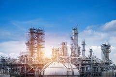 Erdöl industriell lizenzfreie stockbilder