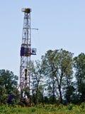 Erdölbohrung-Anlage Stockbilder