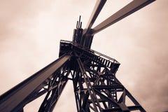 Erdölbohrungs-Anlage Stockbild