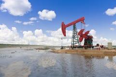 Erdölindustrie innen in Russland Stockbilder