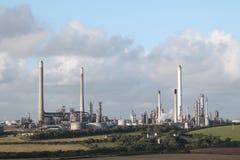 Erdölraffinerie Lizenzfreie Stockbilder