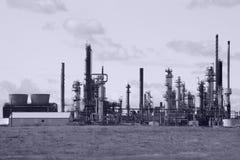 Erdölraffinerie Stockfotografie