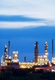 Erdölraffinerie Lizenzfreies Stockfoto