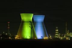 Erdölraffinerie Haifa-Israel stockbild