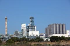 Erdölraffinerieanlage Lizenzfreies Stockfoto