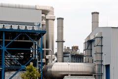 Erdölraffineriefabrik Stockfotografie