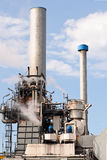 Erdölraffineriefabrik Lizenzfreie Stockbilder