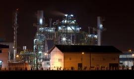 Erdölraffineriefabrik Stockbilder