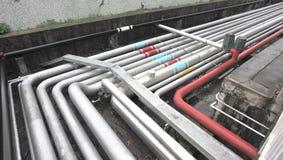 Erdölrohrleitung lizenzfreies stockbild