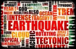 Erdbeben Lizenzfreies Stockbild