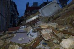 Erdbeben Stockfotos