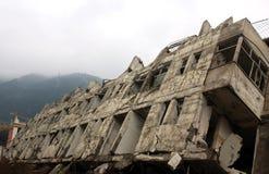 Erdbeben lizenzfreie stockfotos