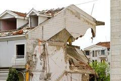 Erdbeben stockbild