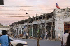 Erdbeben stockfotografie