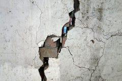 Erdbeben zerstören stockfotografie