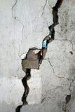 Erdbeben zerstören Lizenzfreies Stockbild