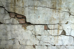 Erdbeben zerstören stockbild