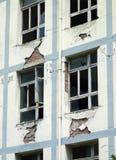 Erdbeben zerstören lizenzfreie stockbilder