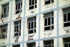 Erdbeben zerstören stockbilder